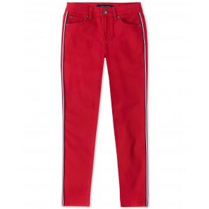 Big Girls Side-Stripe Skinny Jeans