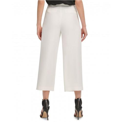 디케이엔와이 Cropped Sailor Pants