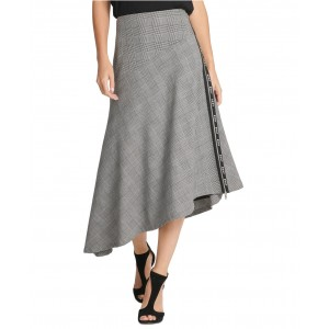 Logo-Trim Asymmetrical Skirt