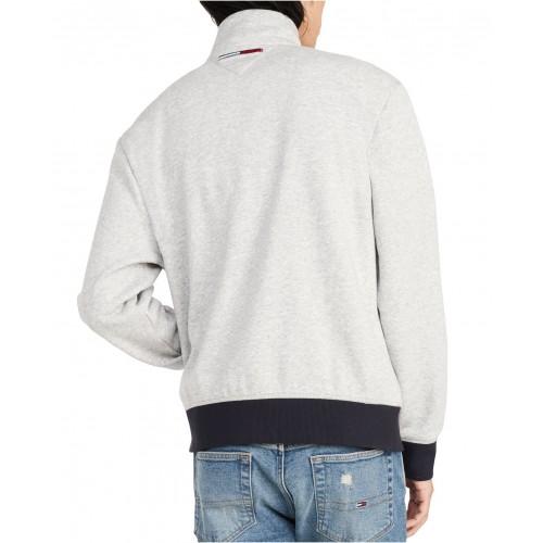 타미힐피거 Mens Phil Half-Zip Logo Sweatshirt