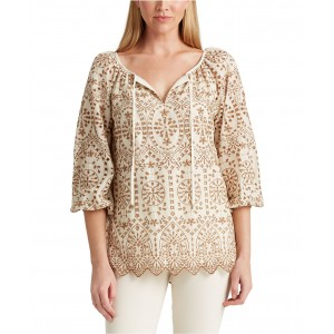 Plus Size Blouson Sleeve Top