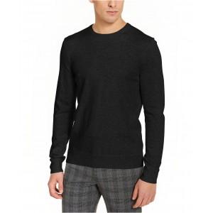 Mens Solid Liquid Sweater