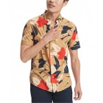Mens Scott Floral Graphic Shirt, Created for Macys