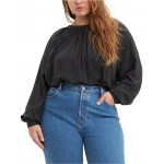 Trendy Plus Size Lily Shirred Top