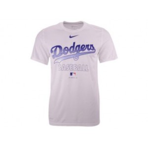 Los Angeles Dodgers Mens Authentic Collection Legend Practice T-Shirt