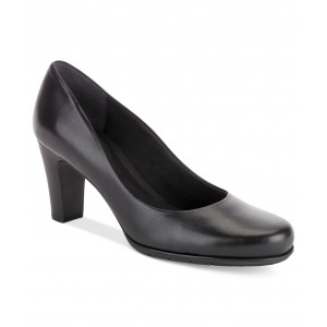 Womens Total Motion Round-Toe Pumps
