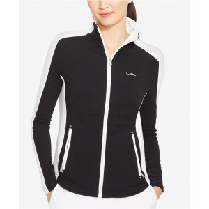Colorblocked Full-Zip Jacket