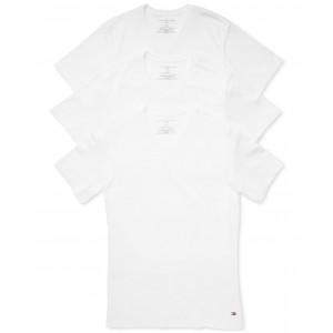 Mens 3 Pack Slim-Fit V-Neck Cotton Undershirt