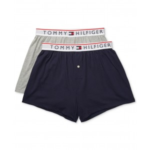 Mens 2-Pk. Modern Essentials Knit Boxers