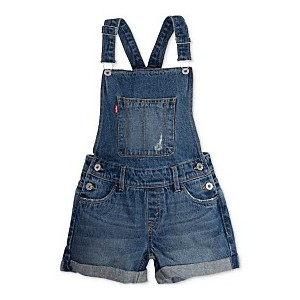 Cotton Denim Boyfriend Shortall, Big Girls