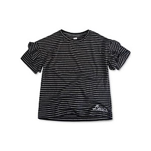 Big Girls Striped Cotton T-Shirt