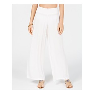 Crinkle Cover-Up Pants