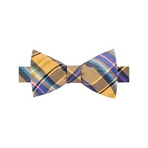 Mens Plaid To-Tie Silk Bow Tie