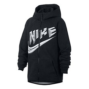 Big Boys Sportswear Zip-Up Hoodie