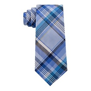 Mens Barbecue Plaid Silk Tie