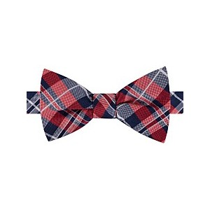 Mens West Side Plaid To-Tie Silk Bow Tie