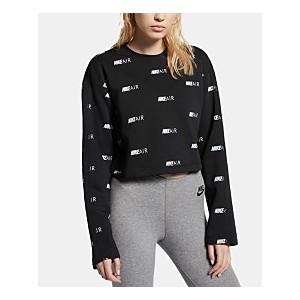 Air Logo-Print Sweatshirt