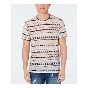 Mens Wynn Ziggy Geo-Stripe Graphic T-Shirt