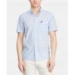 Mens Classic Fit Cotton Gingham Shirt