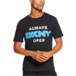 Mens Always Open Logo Graphic T-Shirt