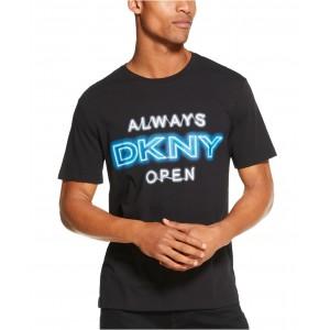 Mens Always Open Logo Graphic T-Shirt