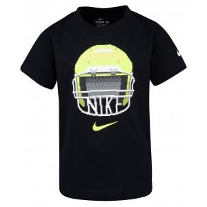 Toddler Boys Football-Print Cotton T-Shirt