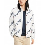 Mens Insulator Quilted Logo-Print Jacket
