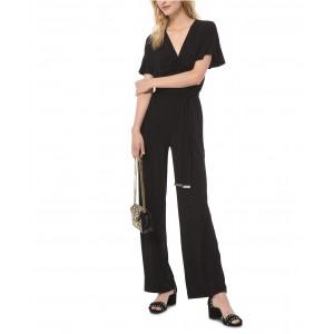 Belted Ruched Jumpsuit, Regular & Petite