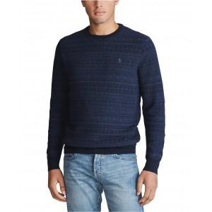 Mens Merino Wool Long Sleeve Sweater