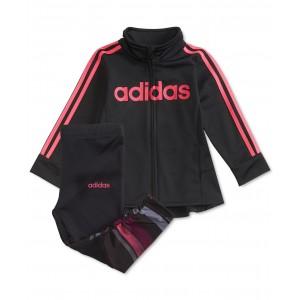 Baby Girls 2-Pc. Tunic Track Jacket & Leggings Set