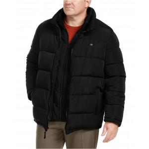 Mens Big & Tall Full-Zip Puffer Coat, Created for Macys