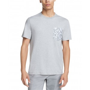 Mens Camo-Pocket Supima Cotton T-Shirt