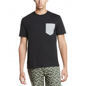 Mens Contrast Pocket Supima Cotton T-Shirt