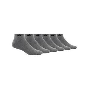 Mens 6 Pack Low-Rise Socks