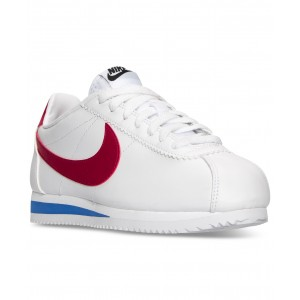 Womens Classic Cortez Leather Casual Sneakers from Finish Line