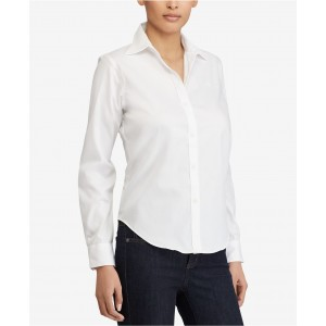 Petite Long Sleeve Non-Iron Shirt