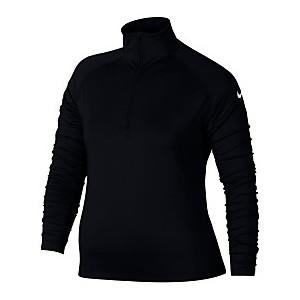 Plus Size Pro Warm Half-Zip Training Top