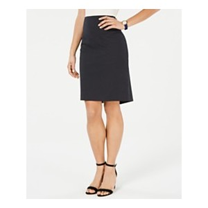Dot-Print Pencil Skirt