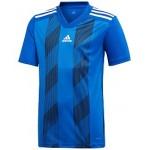 adidas Big Boys Original Climalite Striped T-Shirt