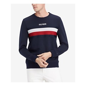 Mens Logo Stripe Sweatshirt, Created for Macys