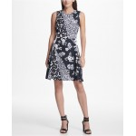 Floral Printed A-line Dress, Created for Macys