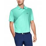 Mens Shoulder Striped Playoff Polo