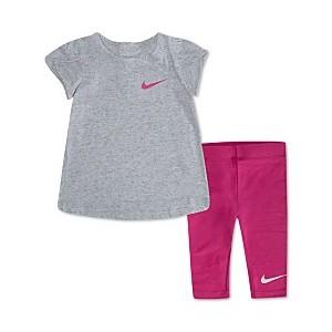 Baby Girls 2-Pc. Sportswear Swoosh T-Shirt & Leggings Set