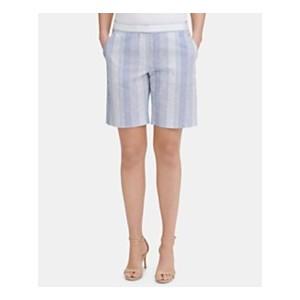 Striped Slim-Leg Shorts, Created for Macys