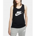 Sportswear Essential Cotton Logo Racerback Tank Top