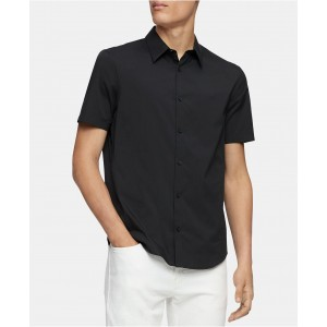 Mens Classic-Fit Stretch Solid Shirt