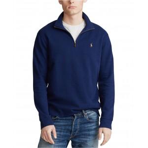 Mens Big & Tall Quarter-Zip Pullover