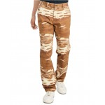 Mens Custom-Fit Stretch Jason Camouflage Chinos, Created for Macys