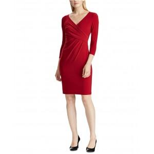 Petite Jersey Three-Quarter-Sleeve Dress