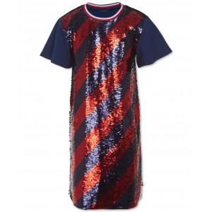 Big Girls Flip Sequins Dress